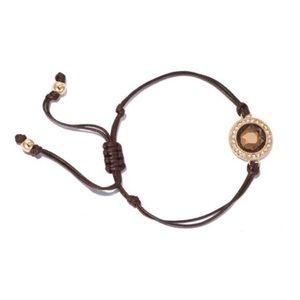NWT Avon Adjustable Bling Charm Bracelet
